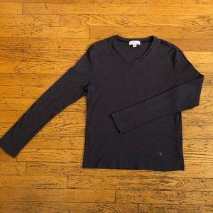 Calvin Klein Purple V Neck Sweater 😈